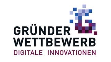 Logo des Gründerwettbewerbs Digitale Innovationen