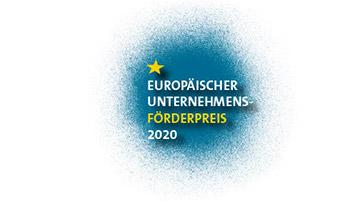 Logo des Europäischen Unternehmensförderpreis 2020