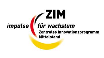 Logo des ZIM - Zentrales Innovationsprogramm Mittelstand